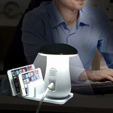Load image into Gallery viewer, Multi Port Mushroom Lamp Charging Dock Station