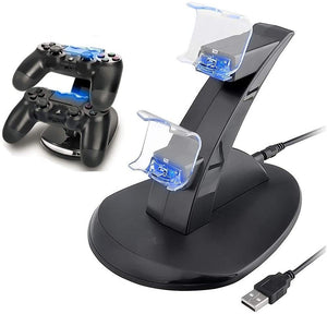 Playstation Controller Charging Dock Stand with LED Lights