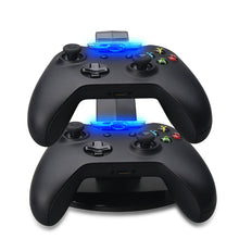 Load image into Gallery viewer, Xbox One Controller Stand Charging Dock Station with LED Lights