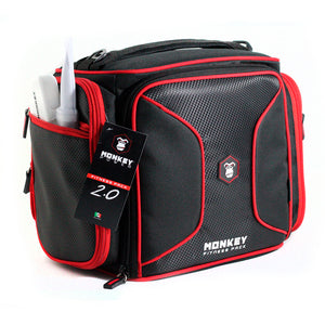 Monkey Fitness Pack Negro con Rojo