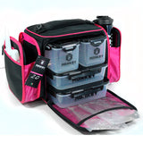 Monkey Fitness Pack Negro con Rosa