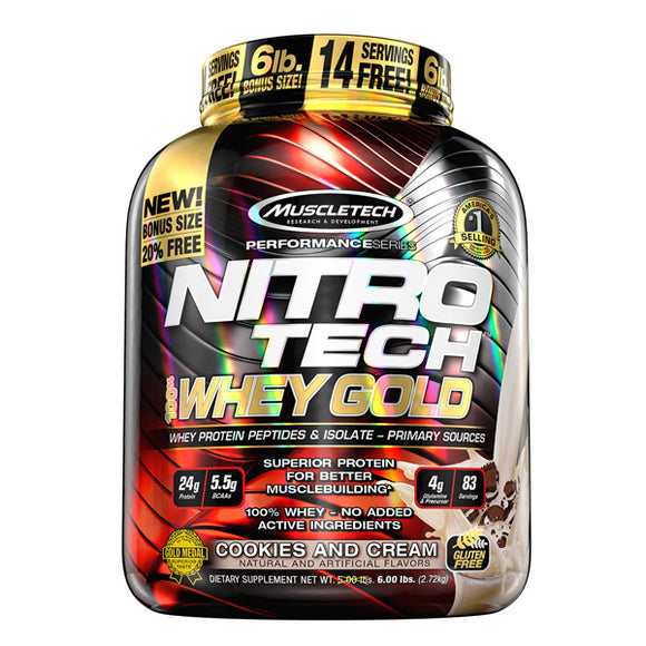 Muscletech Nitro Tech Whey Gold 6lb