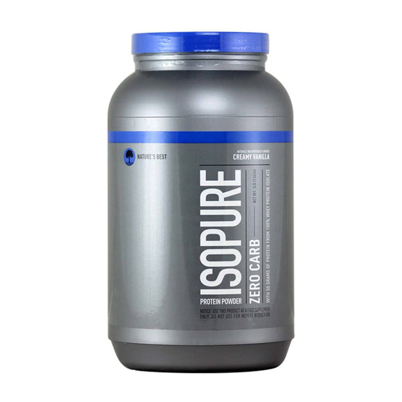 Nature's Best Isopure Zero Carb 3lb
