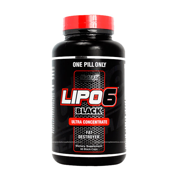 Nutrex Lipo 6 Black Ultra Concentrate 60 Caps