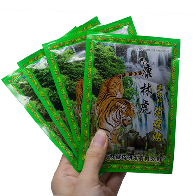 8Pcs /Bag Neck Back Tiger Balm Pain Relieving Patch Medical Plaster Arthritis