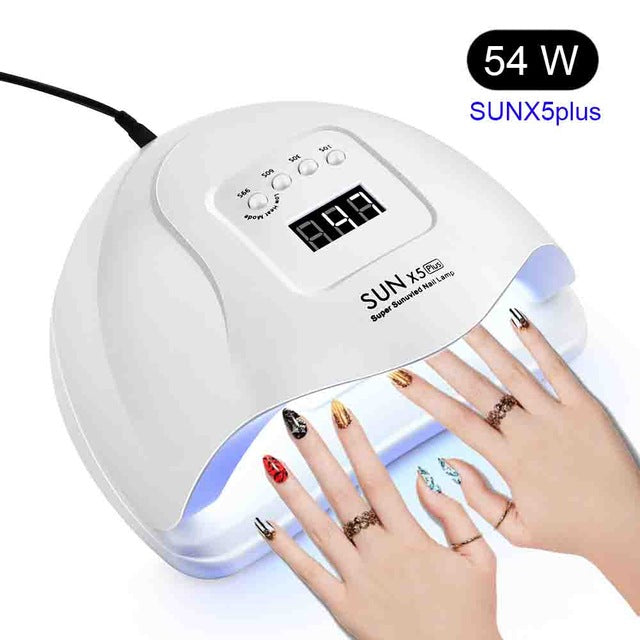 Pro 120W UV Lamp LED Nail Lamp High Power For Nails