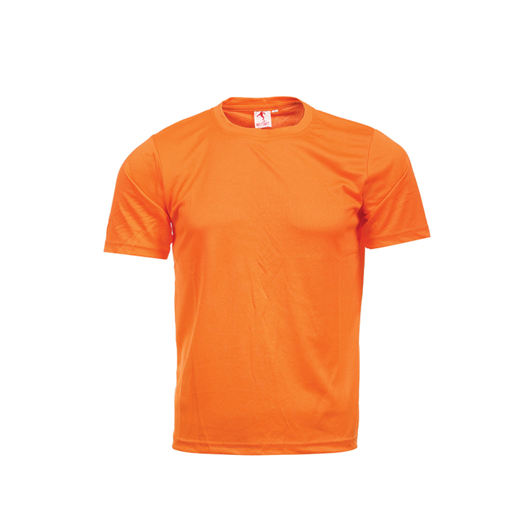 MULTISPORTS Promotion Mini-Eyelet Tee Junior Unisex Quick Dry FUK 01-12
