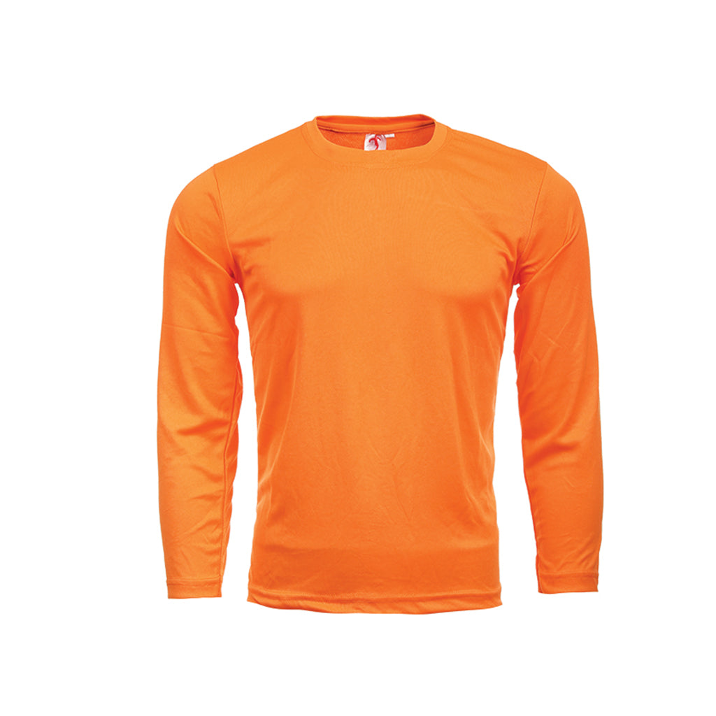 MULTISPORTS Promotion Mini-Eyelet Tee Long Sleeve Unisex Quick Dry FUL 01-12