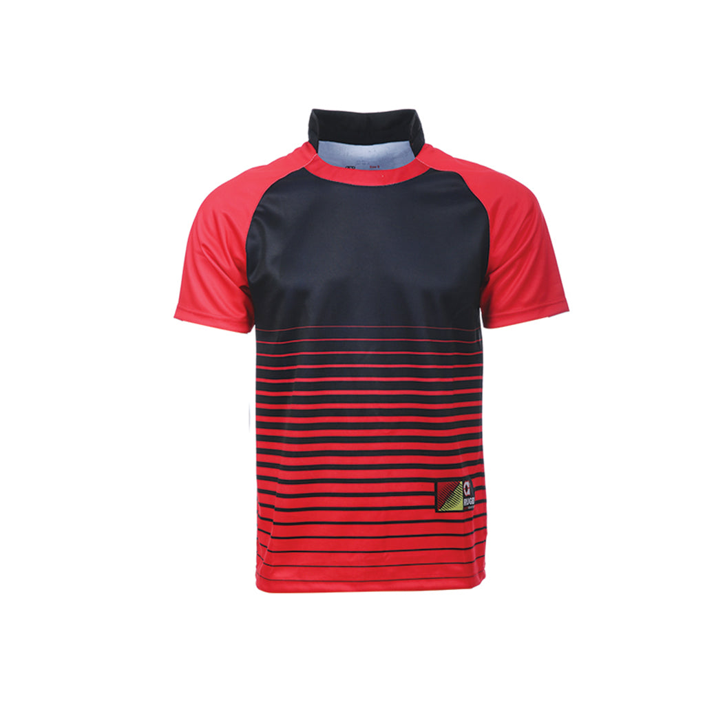 ARORA SPORTS Sublimation Rugby Dryfit RGB 01 Red Fox