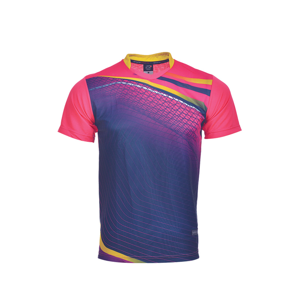 ARORA SPORTS Sublimation Tee Unisex Microfiber RNW 01-04 SS