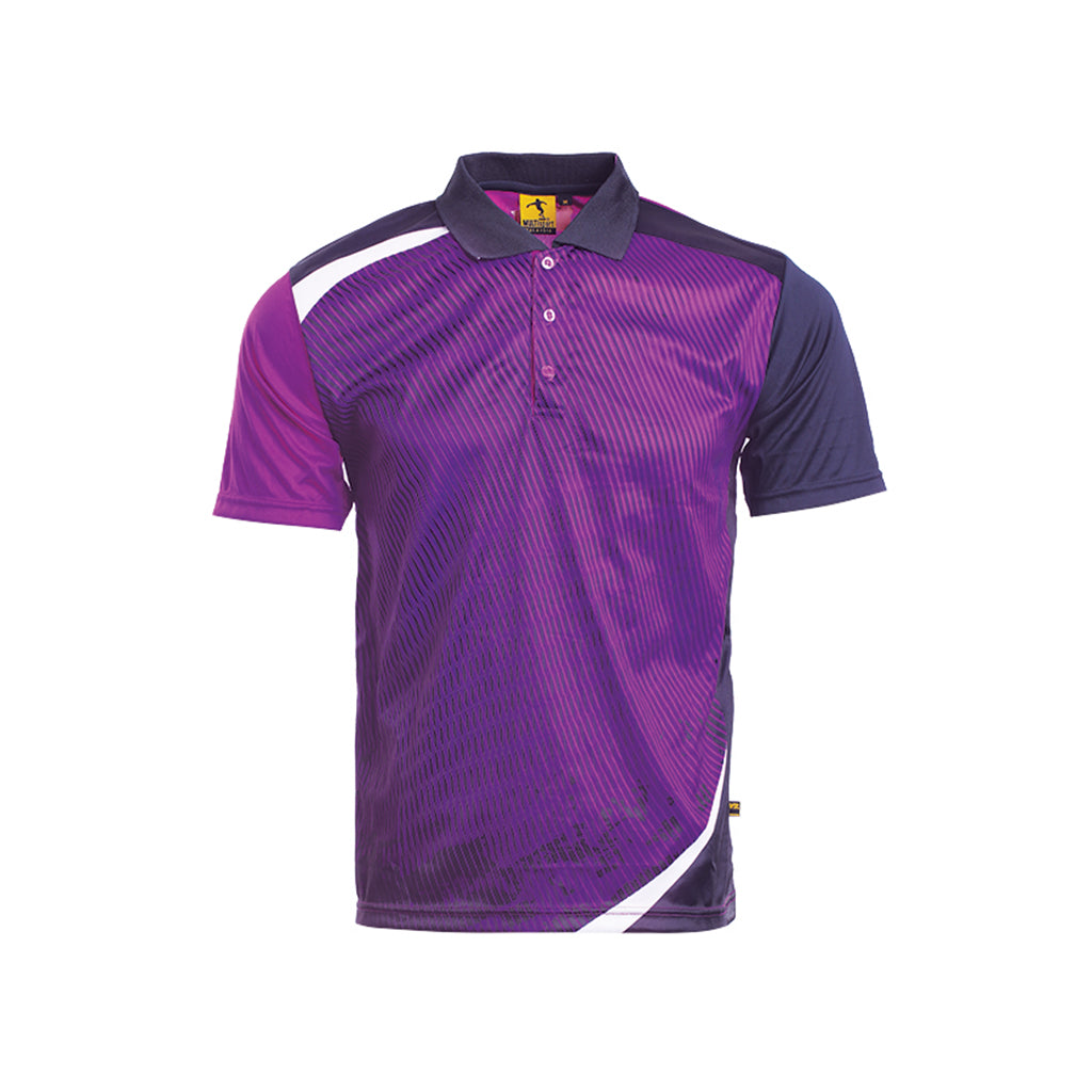 MULTISPORTS Sublimation Polo Unisex Quick Dry SMP 01-03