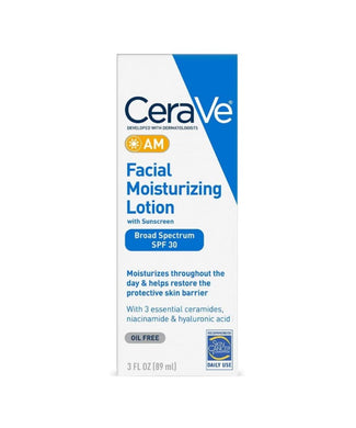 Cerave AM Facial Moisturising Lotion at Shopey.ae