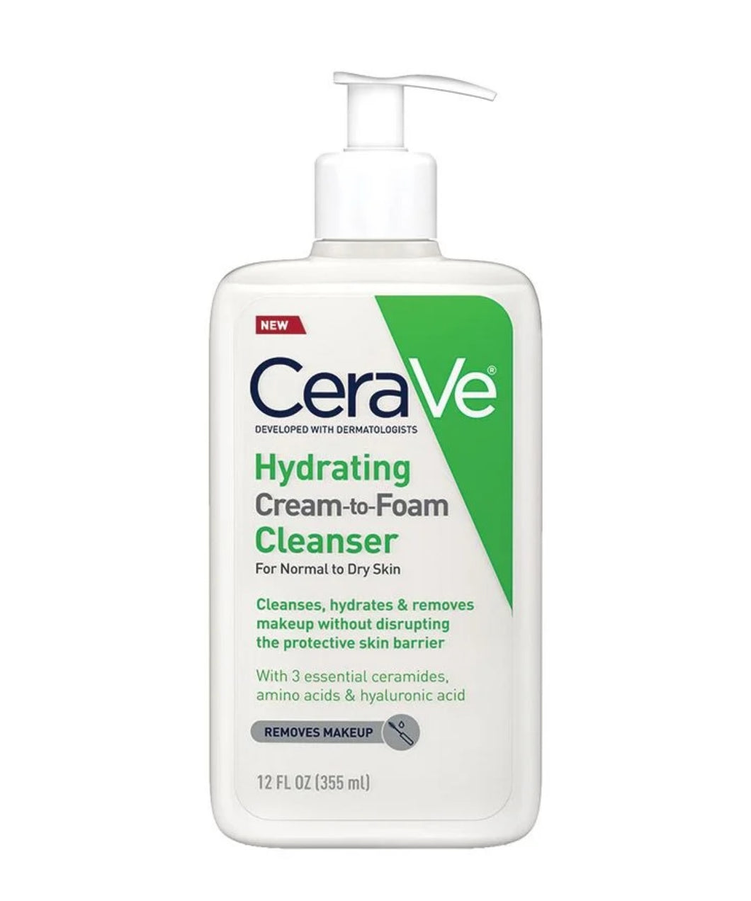 Cerave Hydrating Cream to Foam Cleanser for Normal to Dry Skin in Dubai, Abu Dhabi and all over UAE