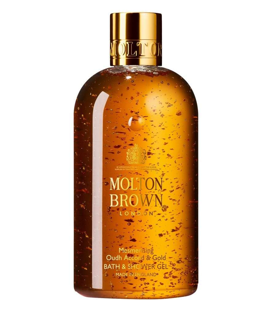 Mesmerising Oudh Accord & Gold Bath & Shower Gel by Molton Brown in UAE at Shopey