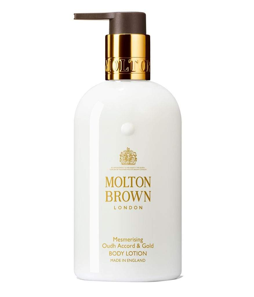 Mesmerising Oudh Accord & Gold Body Lotion by Molton Brown in UAE at Shopey
