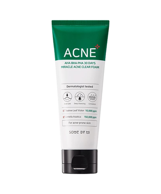 Miracle Acne Clear Foam by Some By Mi in UAE