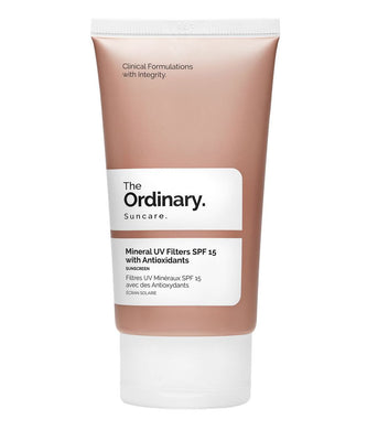 Mineral UV Filters SPF 15 with Antioxidants by The Ordinary in UAE
