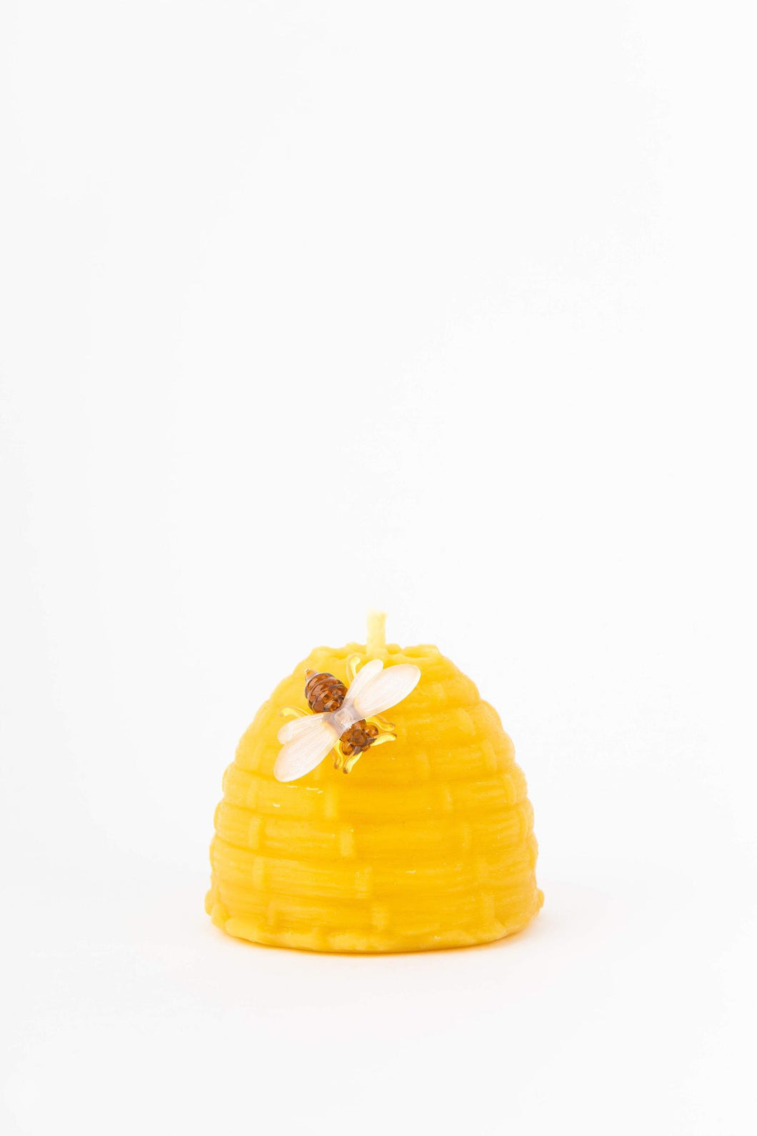 Pure Beeswax Skep Candle
