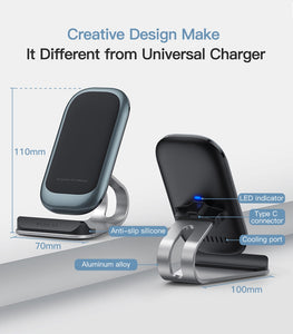 Qi Wireless Charger 10W for iPhone