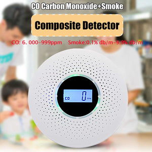 Digital Gas Smoke Alarm