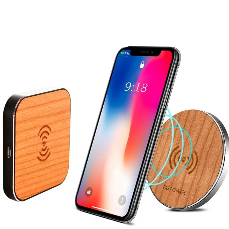 Portable Qi Wireless Fast Charger