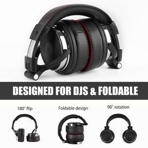 Foldable Over-Ear Wired Headphone