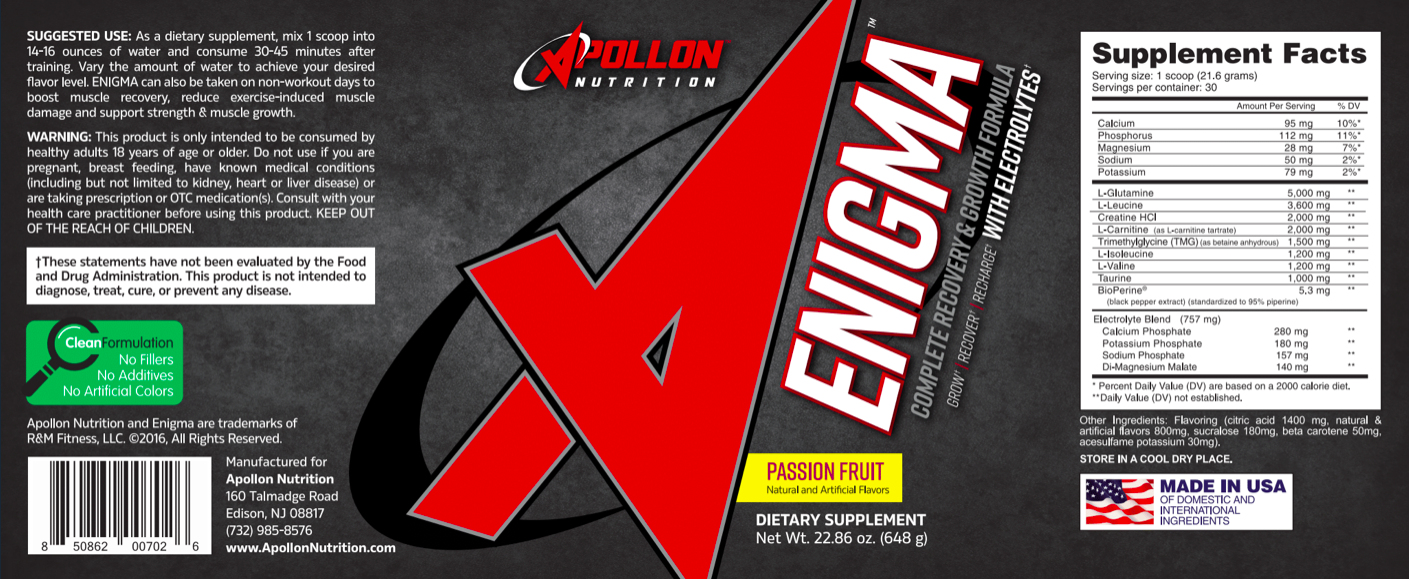Apollon Nutrition Enigma