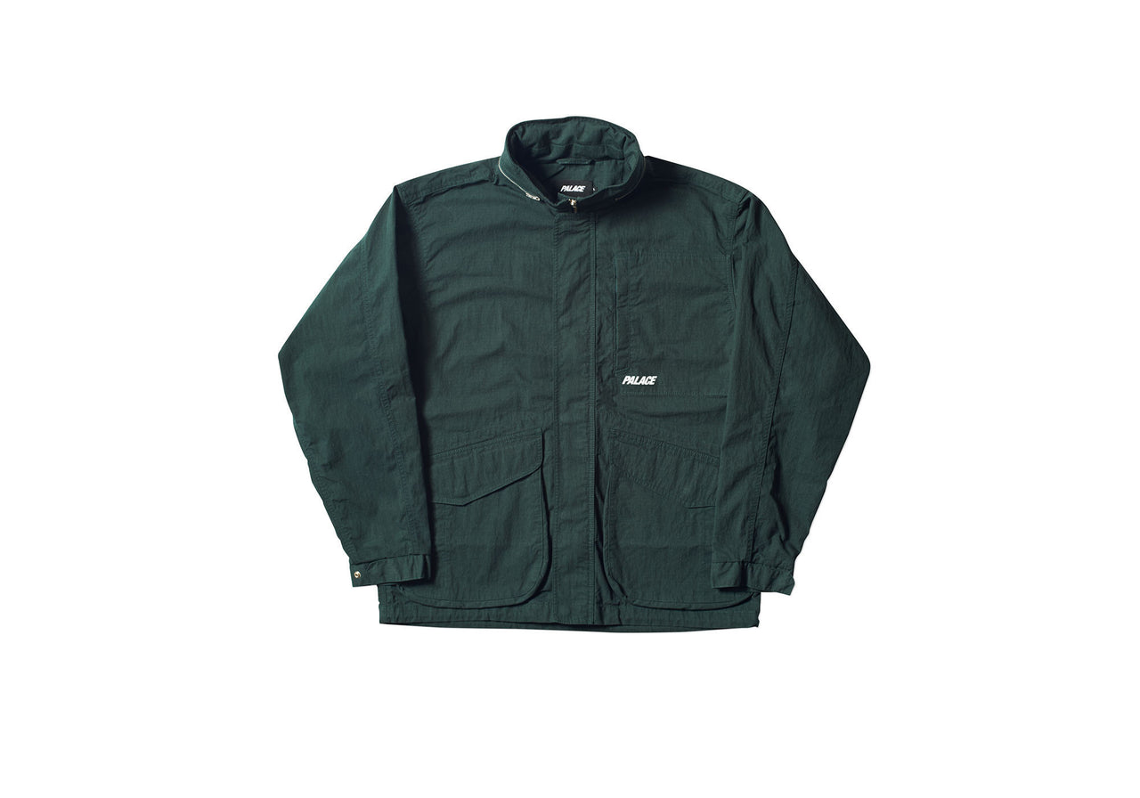 OUTWASH JACKET DARK GREEN