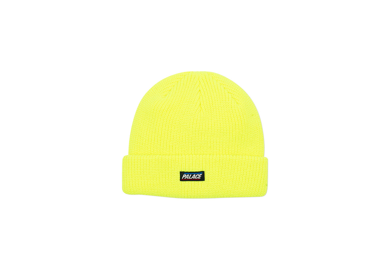 FLAG LABEL BEANIE FLURO