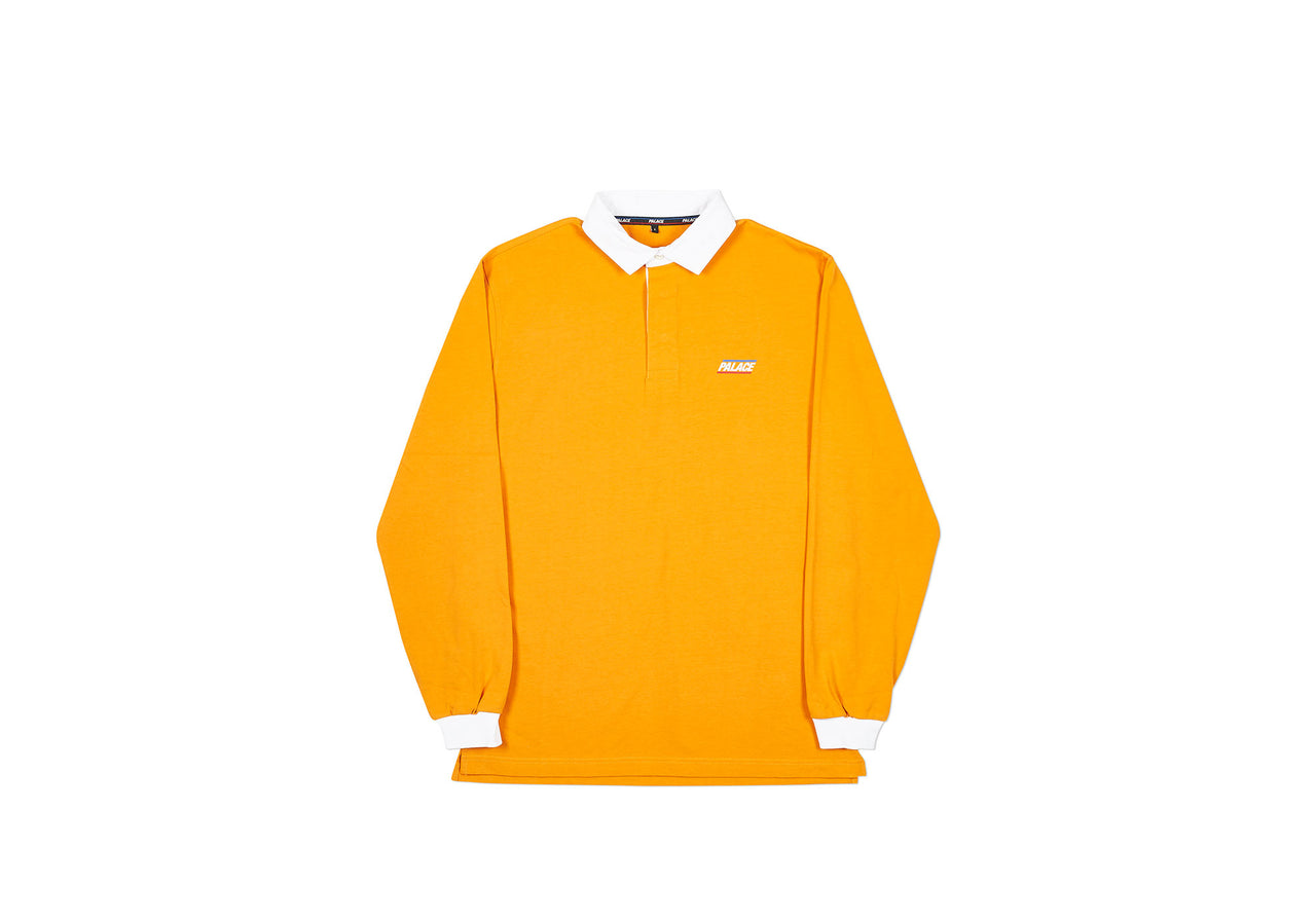 BASICALLY A RUGBY TOP ORANGE