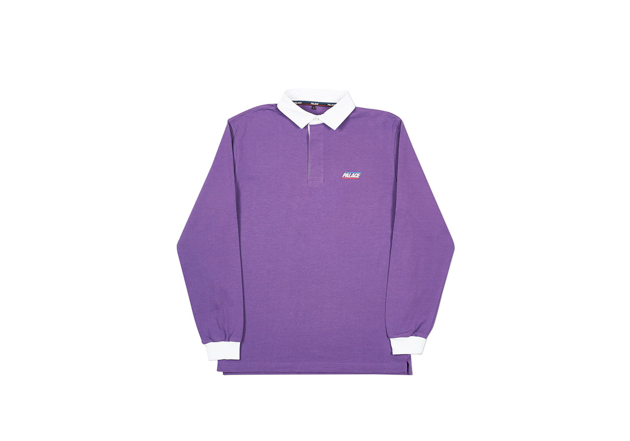 BASICALLY A RUGBY TOP PURPLE