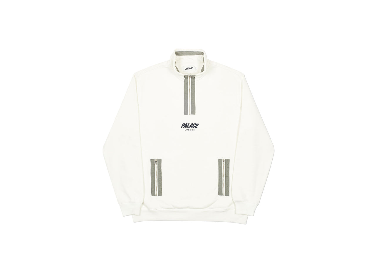 S-FUNNEL SWEAT WHITE