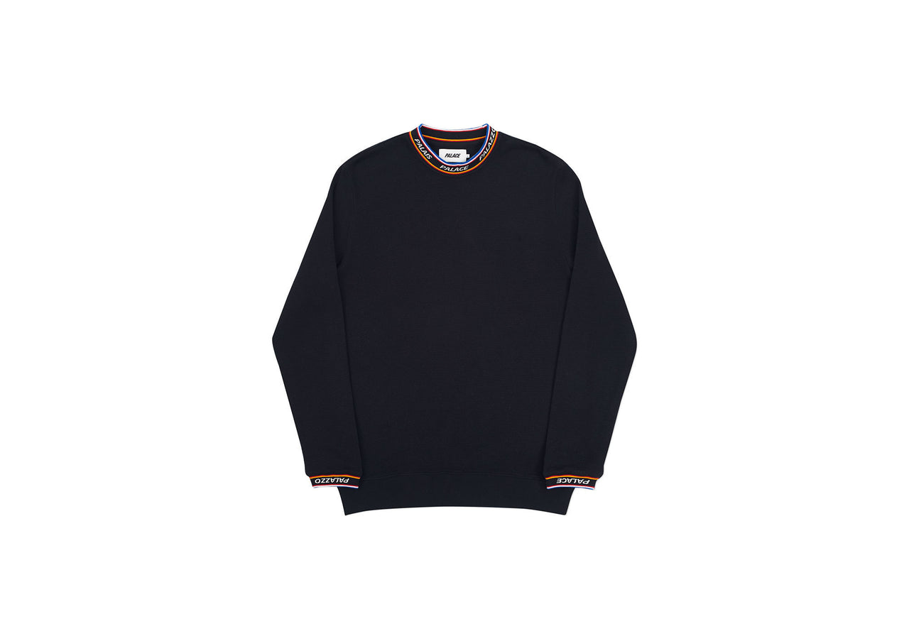 MULTILINGUAL LONGSLEEVE TOP BLACK