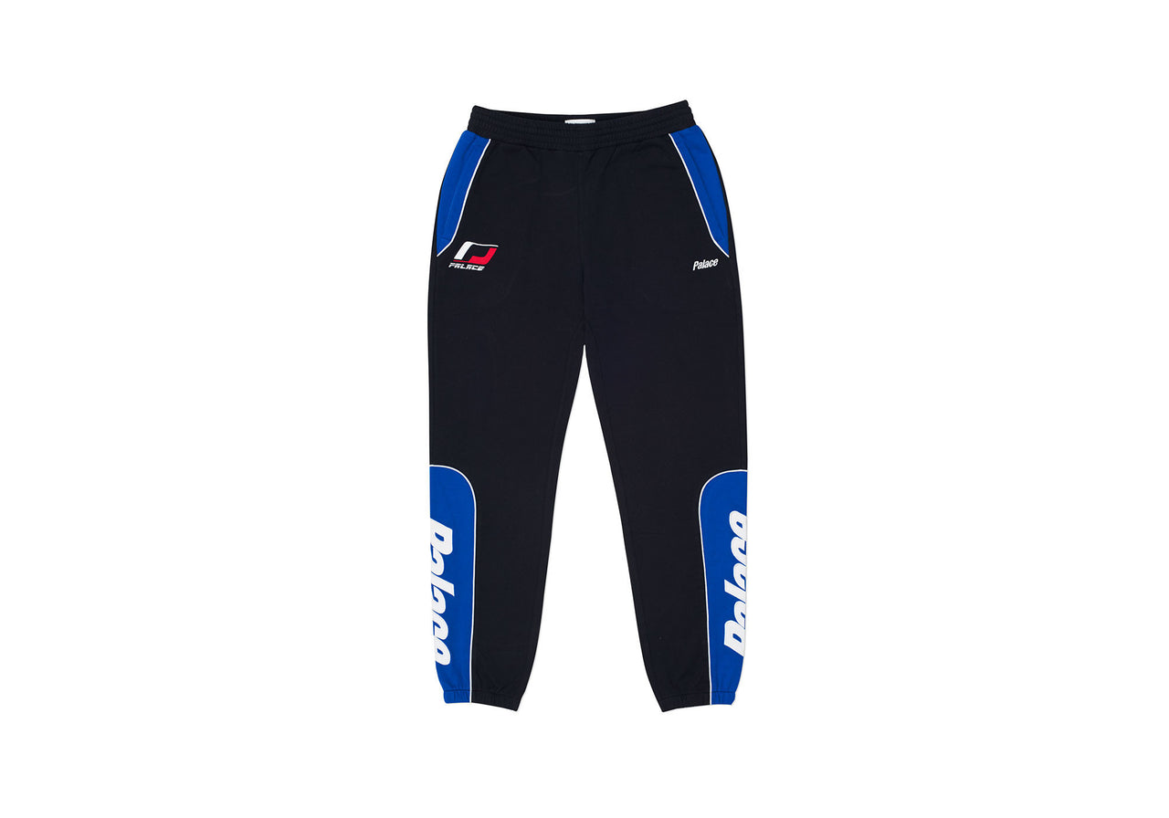 YAMAN TRACK BOTTOM BLACK / BLUE