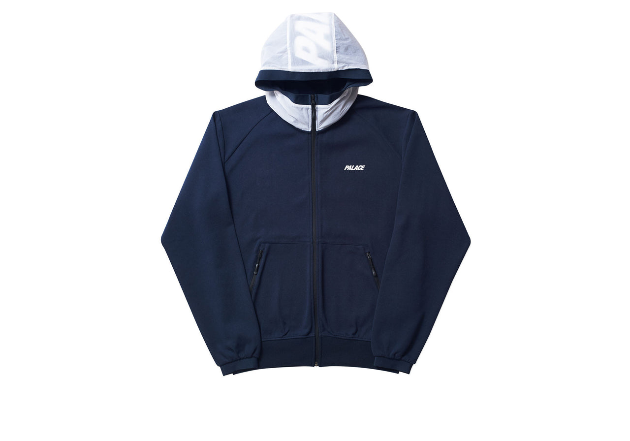 OVERLAY TRACK TOP NAVY / WHITE