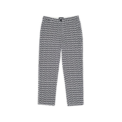 INTENSO TROUSERS BLACK / WHITE
