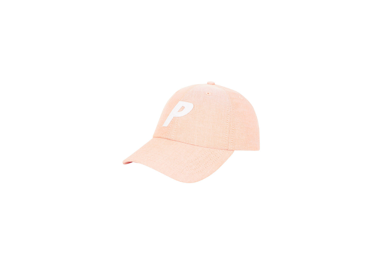 P 6-PANEL OXFORD ORANGE