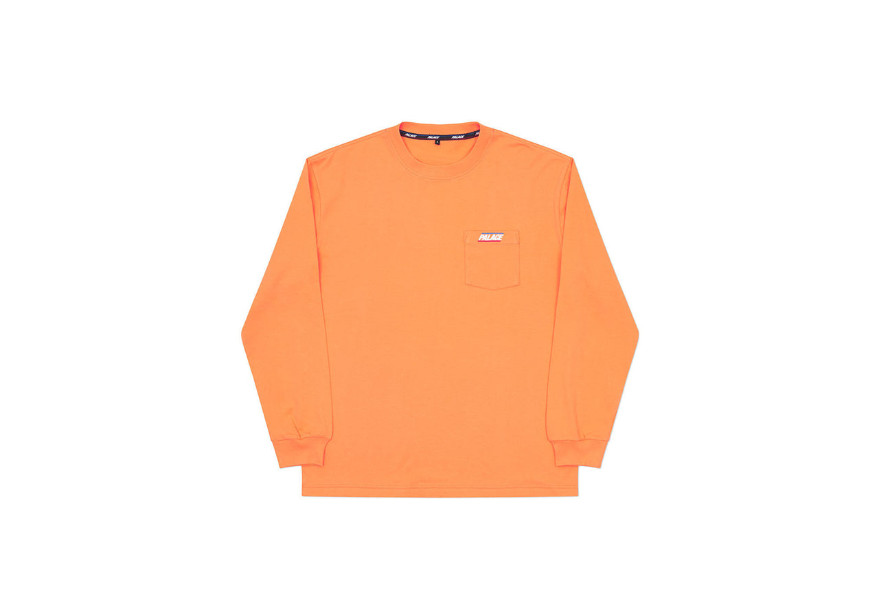 BASICALLY A POCKET LONGSLEEVE ORANGE