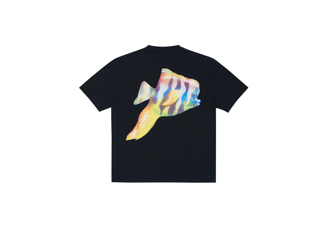 TROPICAL PISH T-SHIRT BLACK