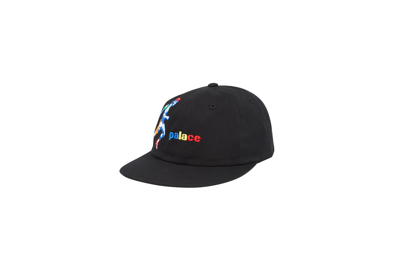 RUNNERS 6-PANEL BLACK