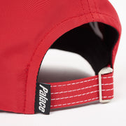 SPEEDWAY SHELL 6-PANEL RED