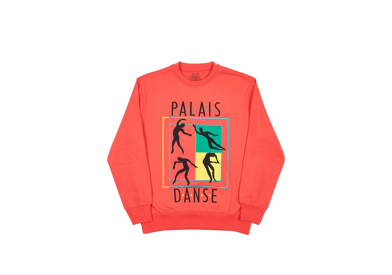 DANSE-CREW CREW LIGHT RED