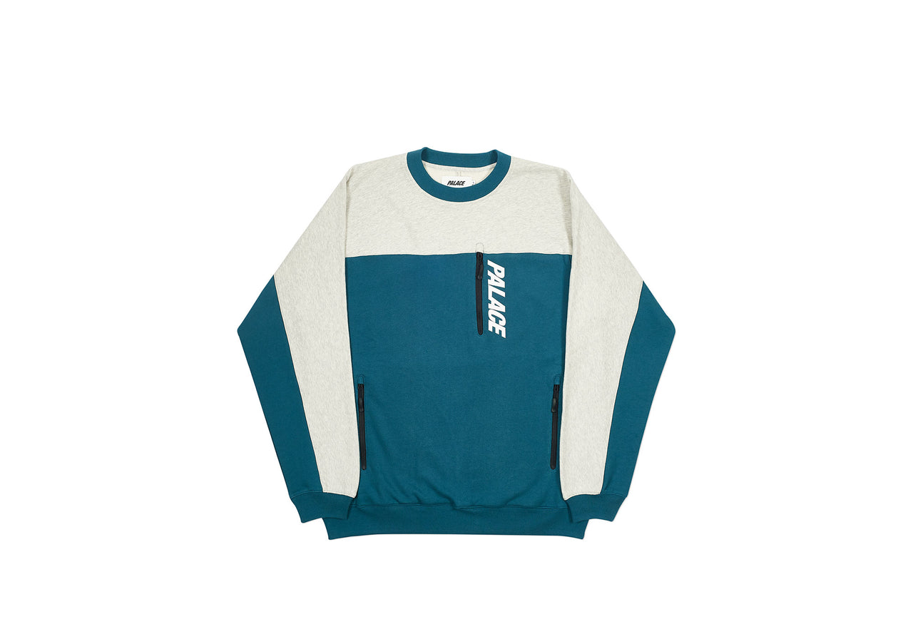 GARAGE CREW GREY MARL / TEAL