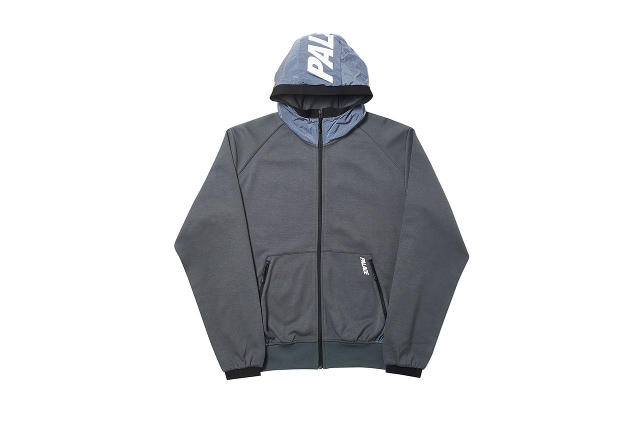 RE-SPONDER TECH ZIP HOOD GRANITE