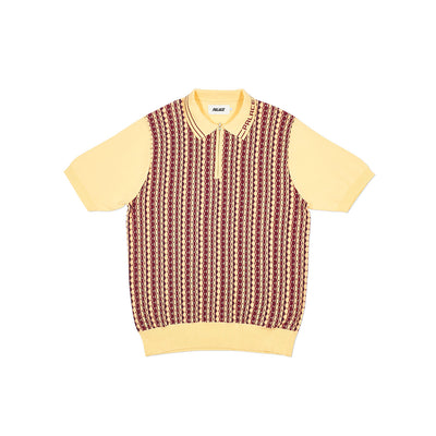 ZIP KNIT PEACH / RED