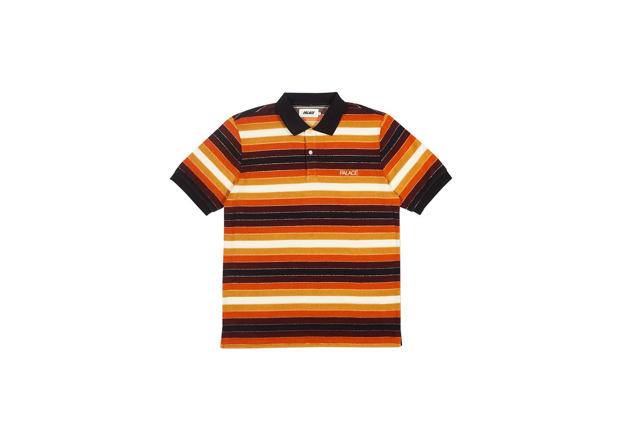 TERRY POLO BROWNS
