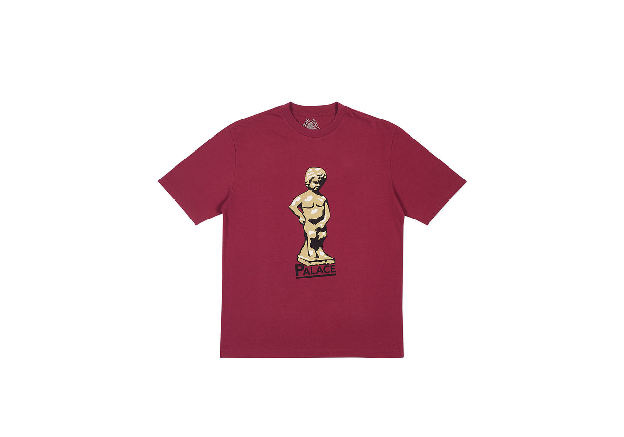 JIMMY PIDDLE T-SHIRT CHERRY RED