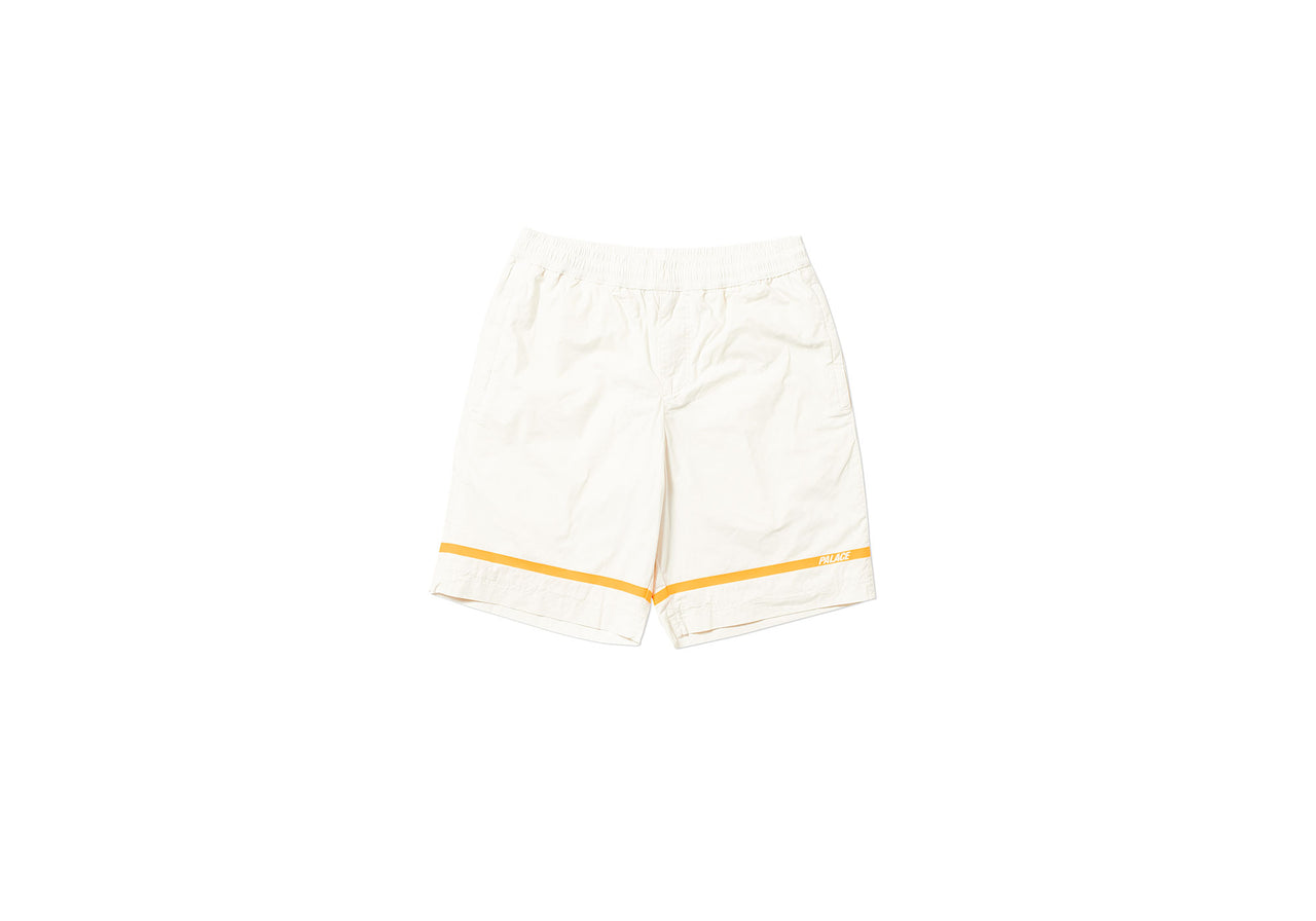 P-LINE COTTON SHORT WHITE STONE