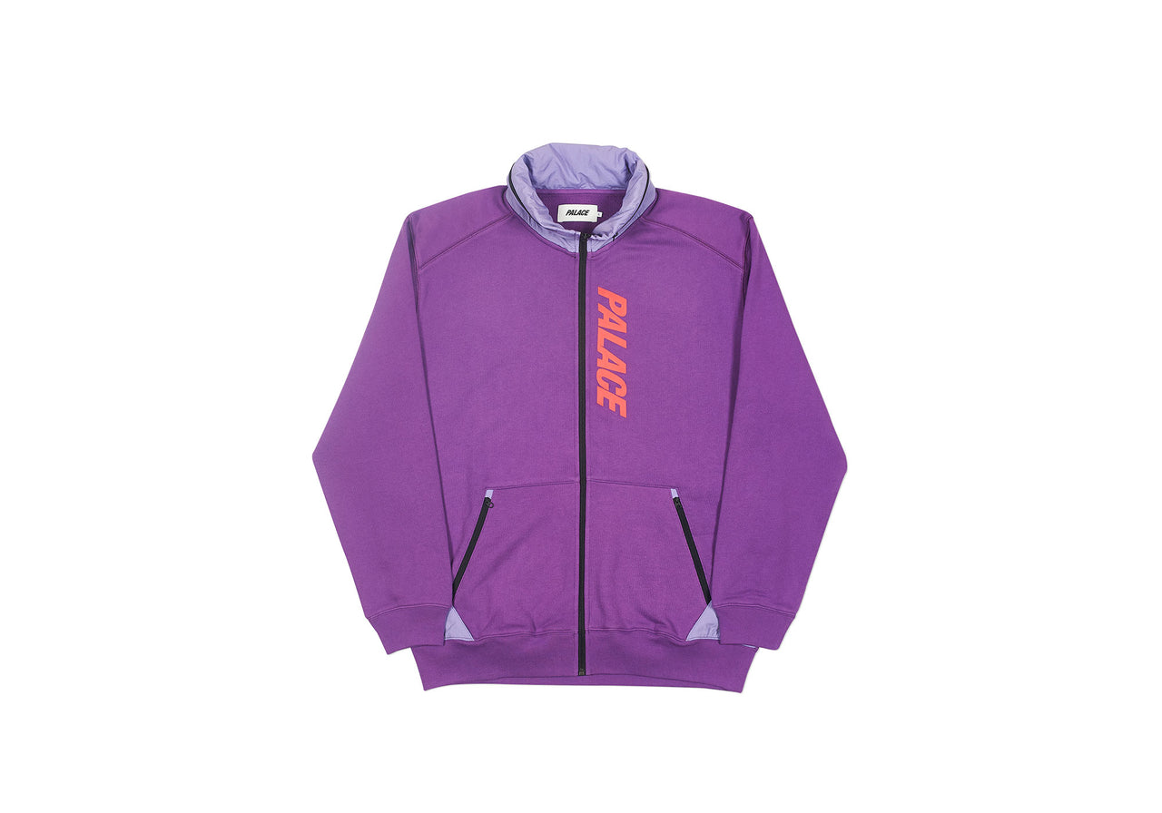 TECHNO ZIP SWEAT PURPLE