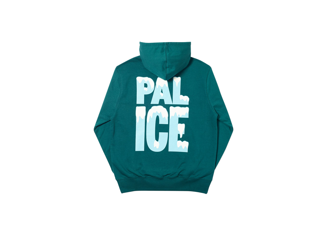 PAL ICE HOOD FOREST GREEN
